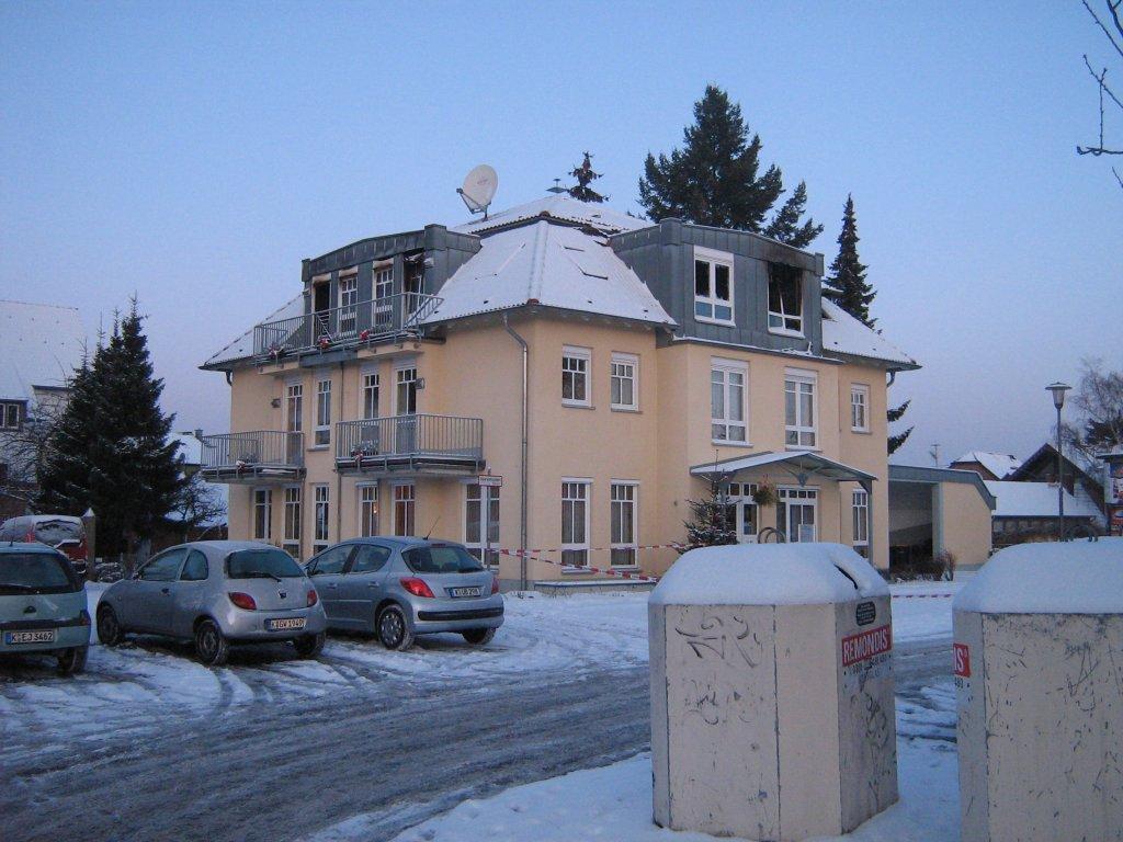 Brandschadensanierung Porz 2010